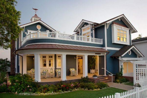 exterior rumah dengan tampilan memukau