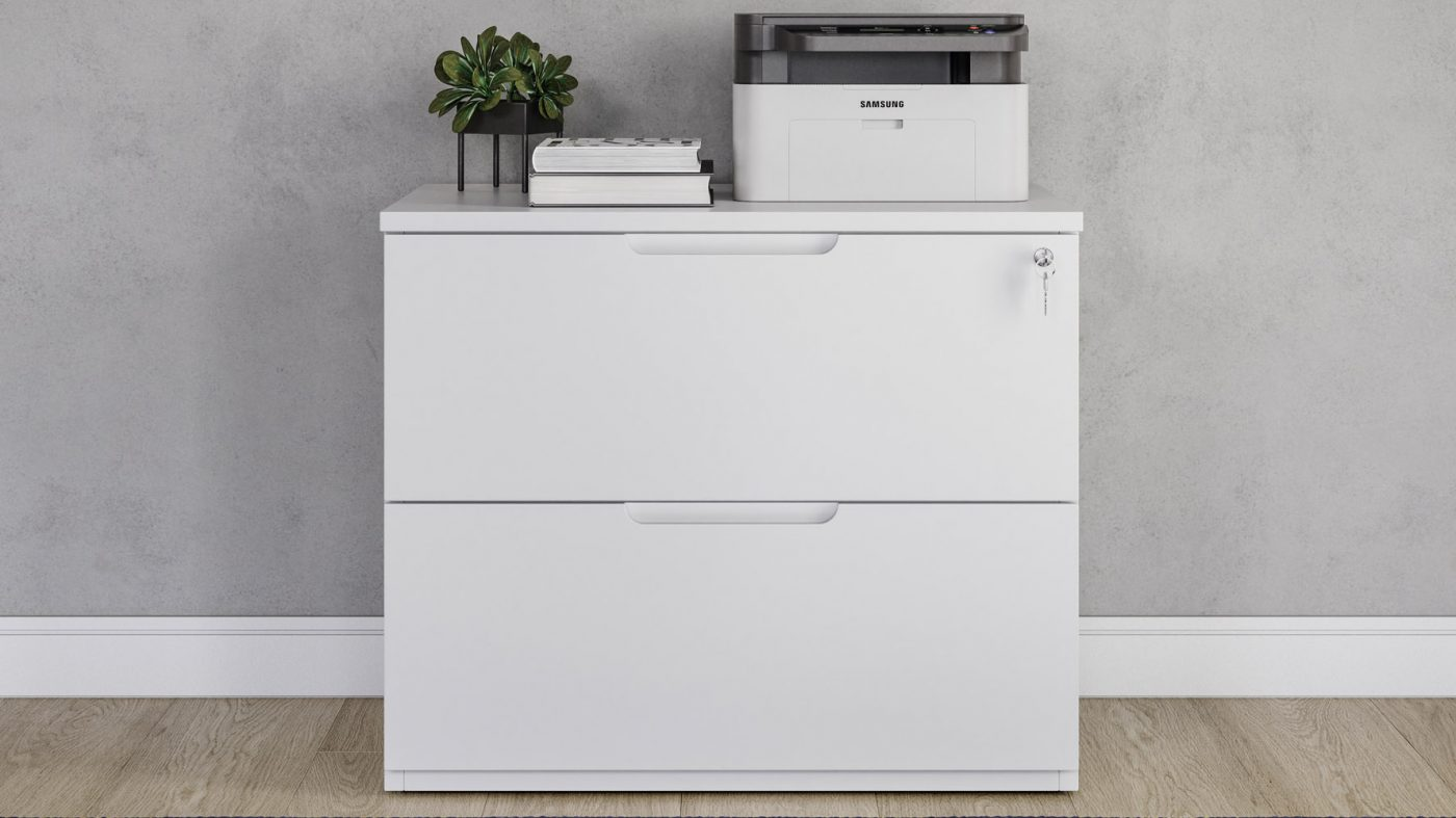 Filling Cabinet Lateral sumber Zuri Furniture